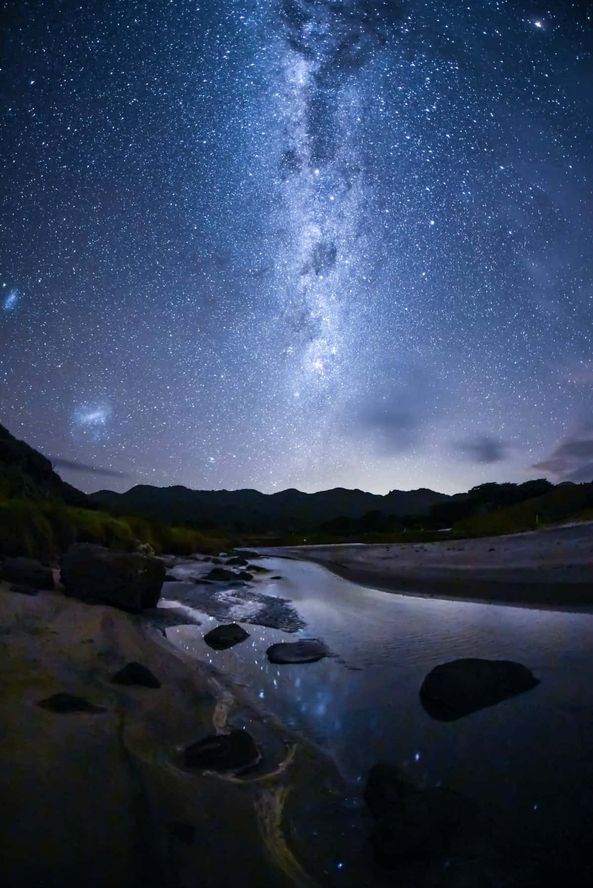 New Zealand dark sky sanctuary stargazing