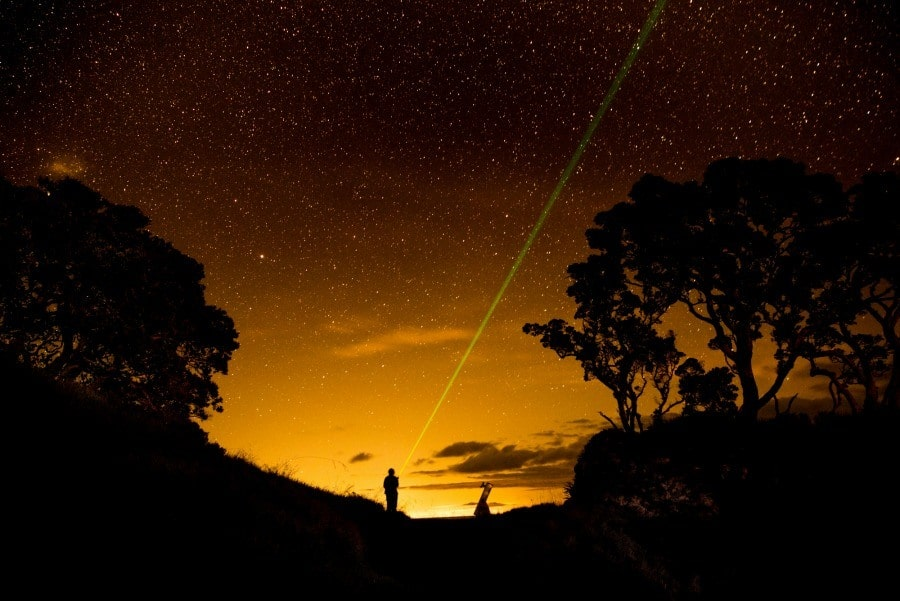 Stargazing on Great Barrier Island