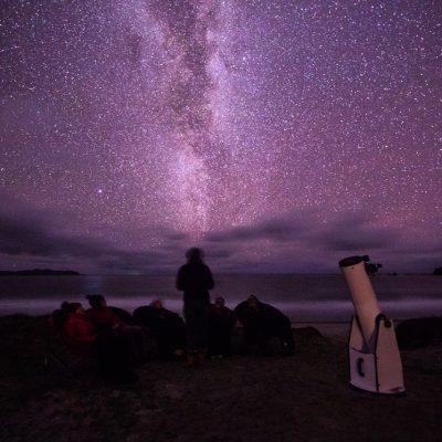 Stargazing tours on Medlands Beach