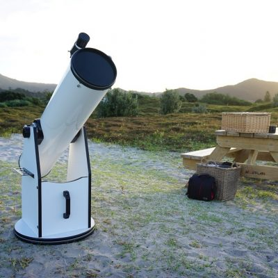 "8"" Dodsonian Telescope, used by Good Heavens, Medlands Beach, Great Barrier Island"